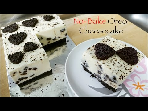 No Bake Oreo Cheesecake in English