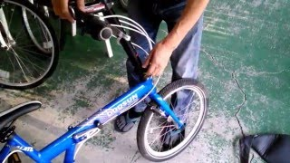 BobCon Foldable Bike: Fixing Loose Front Fork
