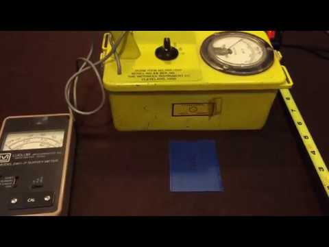 Download Victoreen CDV700-6B Geiger Counter Check Source Rad Survey HD Mp4 3GP Video and MP3