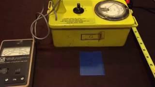 Victoreen CDV700-6B Geiger Counter Check Source Rad Survey