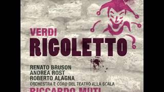 Verdi, Giuseppe - Rigoletto [Opera]   Act III: La donna e mobile (Duke, Sparafucile, Rigoletto)