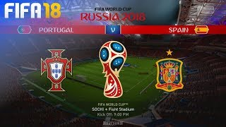 FIFA 18 World Cup - Portugal vs. Spain @ Fisht Stadium (Group B)