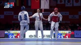 Wuxi 2018 World Taekwondo Grand Slam -68kg [FINAL] Daehoon LEE[KOR] vs Shuai ZHAO[CHN]