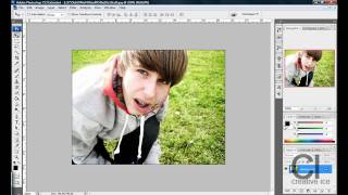Photoshop tutorial: How to make an image black and white.