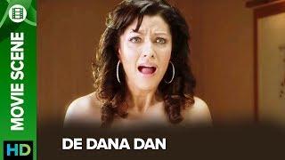 Aditi Gowitrikar catches Akshay red handed | De Dana Dan | Movie Scene