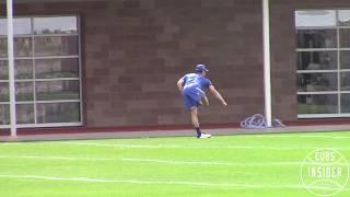 Yu Darvish - First Cubs Workout