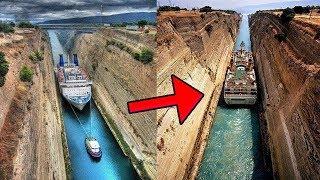 أخطر 5 قنوات للملاحة البحرية في العالم..!!