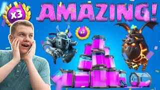 272,900 GOLD! Best Triple Elixir Deck! LIVE Challenge Gameplay & Chest Opening! - Clash Royale