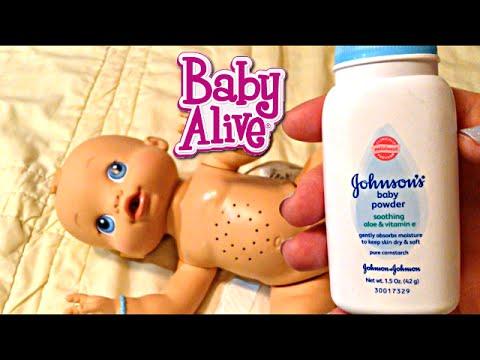 Baby Alive Wets n Wiggles Boy Doll Sherlock Feeding and Diaper Change