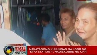 SONA: Nakatagong kulungan sa loob ng MPD station 1, nadiskubre ng CHR