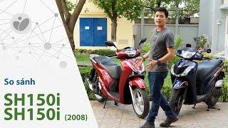 Xe.Tinhte.vn | Honda SH150i vs SH 150i 2008 - Chấm dứt huyền thoại SH Ý