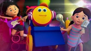 Bob The Train | lets have fun | original song | nursery rhymes | kids songs | 3d rhymes | dance song