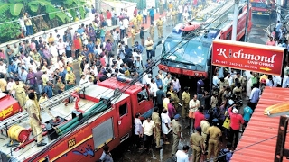 KERALA FIRE FORCE TEAM FIRE FIGHTING OPERATION