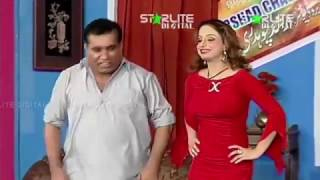 Nida Choudhary And Nasir Chinoyti (AT HIS BEST) New Pakistani Stage Drama Full Comedy Clip