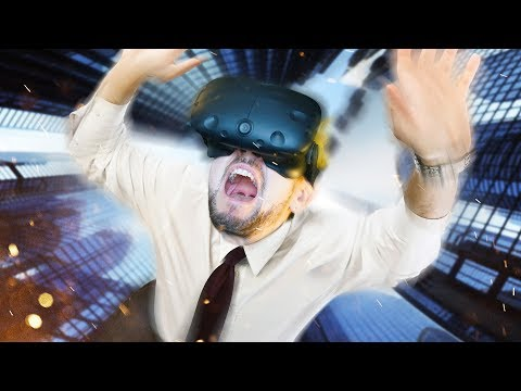 I FEEL LIKE SPIDERMAN To The Top HTC Vive Virtual Reality
