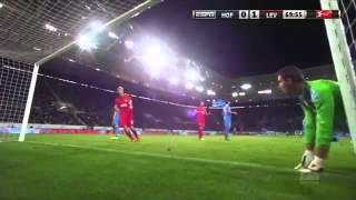 EXTRAÑO GOL FANTASMA - Bayern Leverkusem