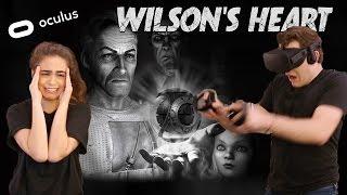 Couple Plays Wilson's Heart - Virtual Reality on Oculus Rift | Jessica MacCleary ♡