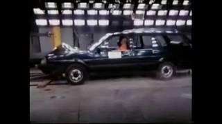 Old cars crash tests 60 s - 90 s