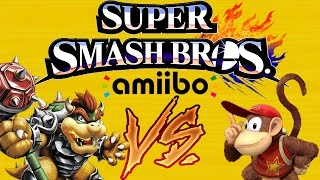 Amiibo Tournament 6 Round 1: Diddy Kong VS Hammer Bowser