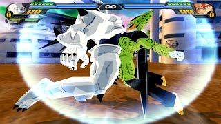 Omega Shenron and Cell Fusion | Omega Cellron vs Gogeta SSJ4 | DBZ Tenkaichi 3 (MOD)