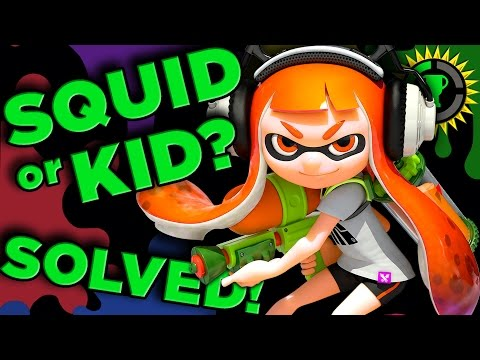 Xxx Mp4 Game Theory Are You A Kid Or Squid Splatoon SOLVED 3gp Sex