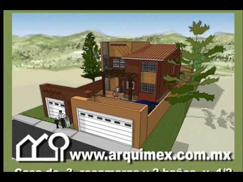 Planos de Casas Modelo San Leoncio 138 Arquimex Planos de Casas