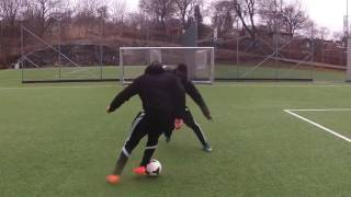 TOP 5  Amazing Football Skills vs Defenders 2017   ★★★★★ HIGH