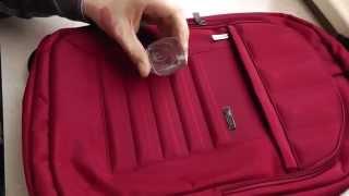 Красный рюкзак SENDIWEI для ноутбука для студентки или школьницы