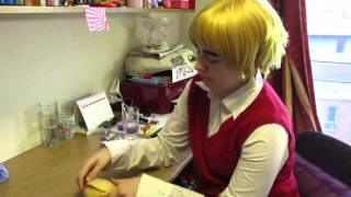 Hetalia cosplay: England's day off