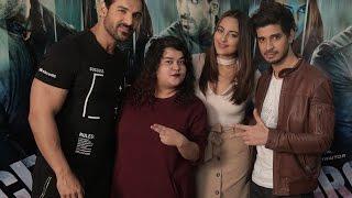 Sonakshi Sinha, John Abraham & Tahir Bhasin Interview with Team MissMalini