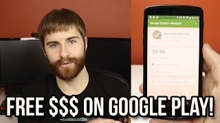 How to Get Free Money for the Google Play Store! - Google Opinions Rewards App!