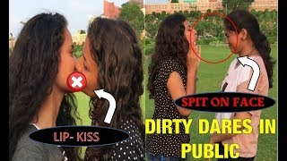 Crazy DIRTY DARE GAME In Public II We Made Them BEG :) [] Pranks In INDIA 2017