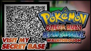 Pokemon Omega Ruby Alpha Sapphire Secret Base Qr Code