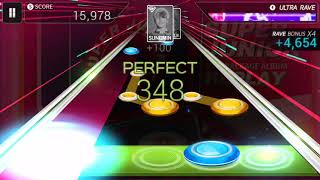 (Hidden Stage) (SuperStar SMTOWN) Super Junior - Super Duper 1min 18sec (Hard - 🌟🌟)