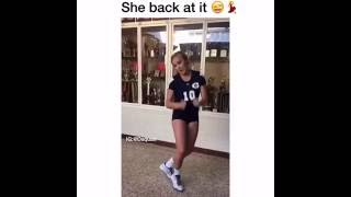White girl kills Juju On Dat Beat #2 | TZ Anthem Challenge | 2016