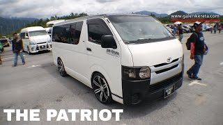 Toyota Hiace Modified With Full Audio Sytem | Mega Gathering 2K16 UPSI Tanjung Malim | Closeup Video