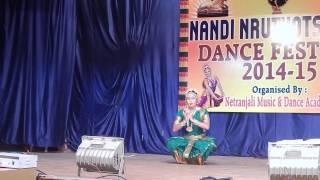 Narthana Ganapathi Dance by Supraja Chitti in NANDI NRUTYOTSAVALU