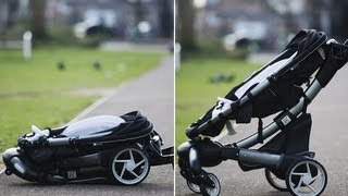 Tried and tested: the self-folding buggy