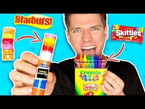 DIY Edible School Supplies FUNNY PRANKS Back To School Learn How To Prank using Candy & Food