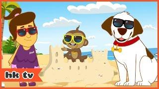 Adventures of Annie & Ben: A Visit to America | Cartoons for Children | HooplaKidz TV