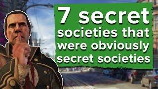 7 secret societies that were obviously secret societies