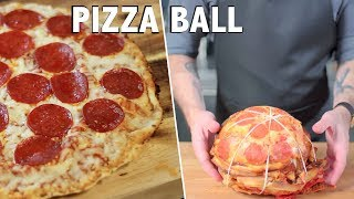 Pizza Ball- Binging With Babish Test #1