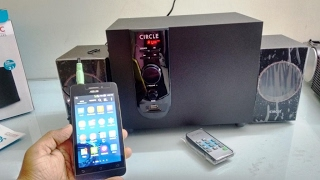 Unboxing & Testing Circle 2.1 Woofer with USB & Remote