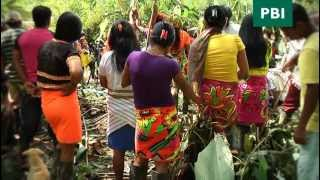 Embera indigenous people say 'no' to the mining industry