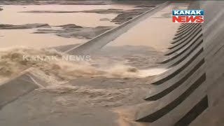 Hirakud Dam Opens Two Gates, Releases First Flood Water of The Season