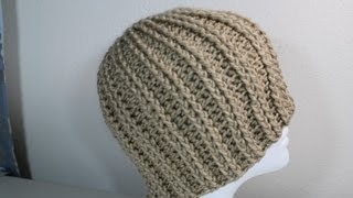 Download How to Crochet rib hat (step by step video) - Yolanda Soto Lopez 3Gp Mp4