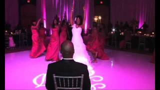 Bride Surprises Groom With