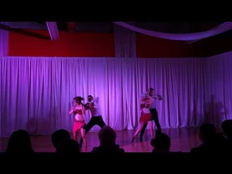 Johnny Bravo Dancers performing at SBKF 2016
