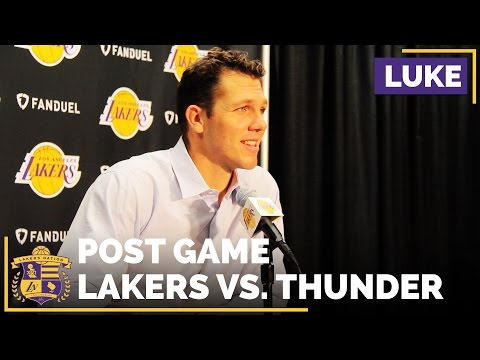 Luke Walton's Reaction To Nick Young Stealing A Pass To Lou Williams For The Game Winner