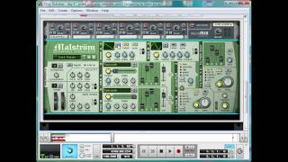 Dirty Dubstep tutorial Day 4 Pt 3: Making a painful siren synth